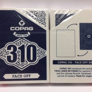 Copag 310 SlimLine Face Off Blue Playing Cards (4996)