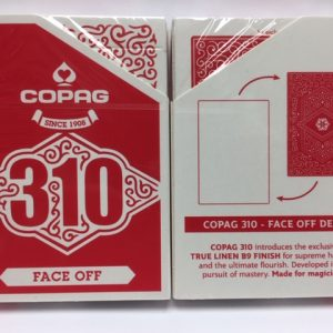 Copag 310 SlimLine Face Off Red Playing Cards (4995)