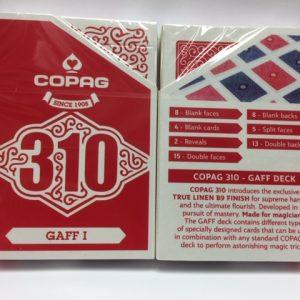 Copag 310 SlimLine Gaff I Playing Cards (4998)