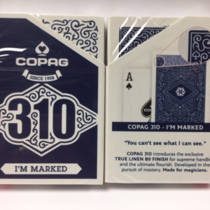 Copag 310 SlimLine Playing Cards I'm Marked Blue (4993)