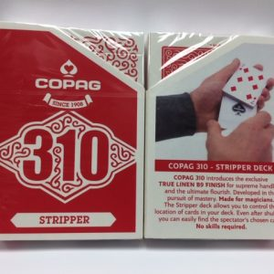 Copag Stripper Deck Red & Online Video (4999)