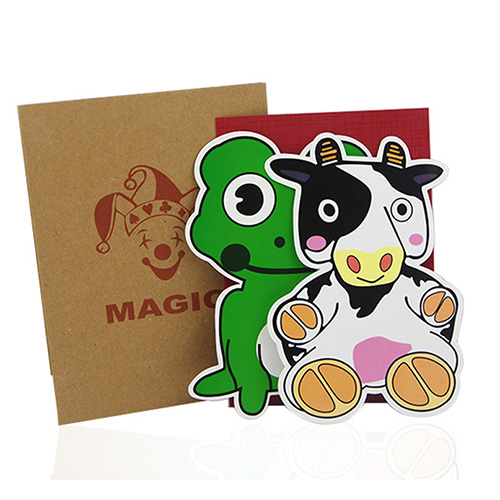 Cow & Frog Trick Klein (3888)