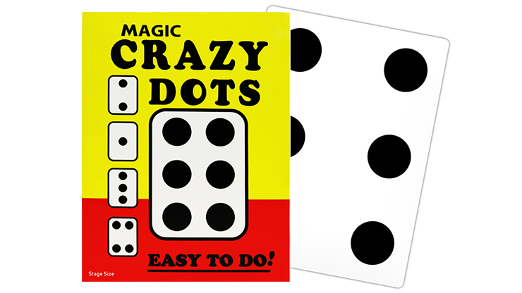 Crazy Dots Stage Size by Murphy's Magic (5049)