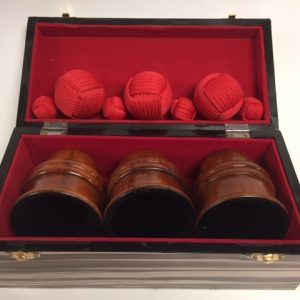 Cups & Balls Light Wood Deluxe (0098-A6)