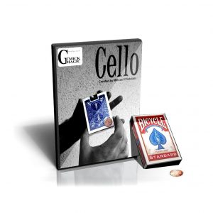 Cello Gimmick & DVD by Mickael Chatelain (DVD717)