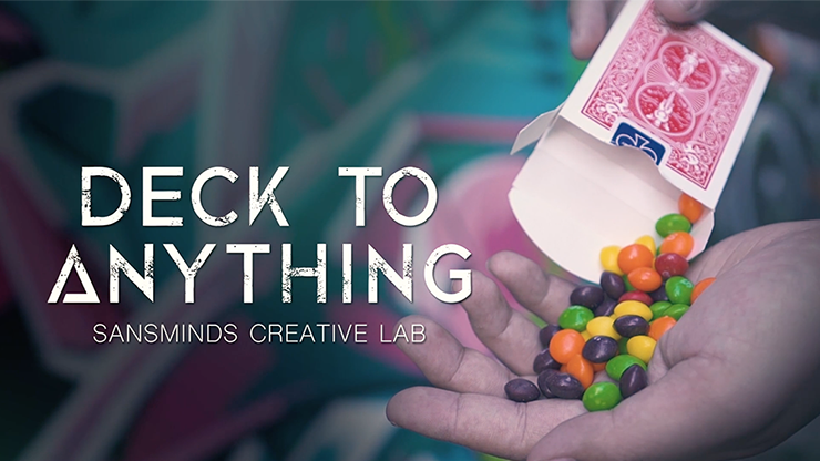 Deck To Anything by Sansminds Creative Lab (DVD997)