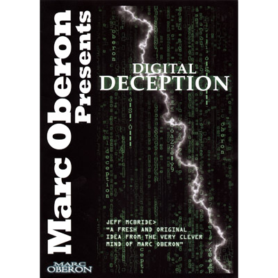 Digital Deception with DVD by Marc Oberon (3285)