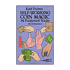 Self Working Coin Magic by Karl Fulves Boek (B0275)