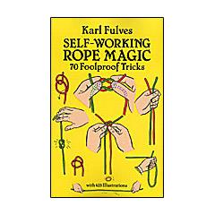 Self Working Rope Magic by Karl Fulves Boek (B0276)