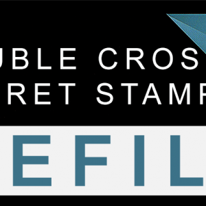 Double Cross Secret Stamper Part / Refill by Magic Smith (1356)