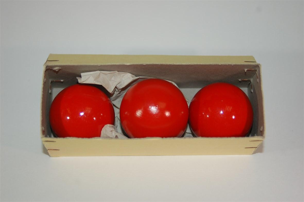 Multiplying Balls 40 mm Hout Rood