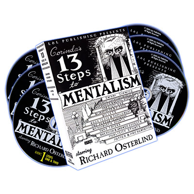 13 Steps To Mentalism  DVD-Set (DVD522)
