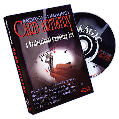 Card Artistry DVD by Andrew Wimhurst (DVD667)