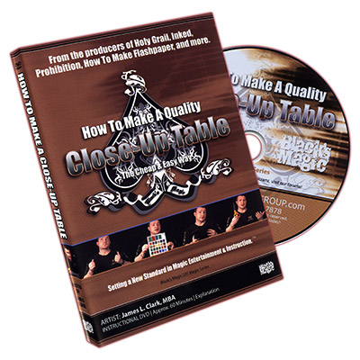 How to Make a Close Up Table DVD (DVD523)