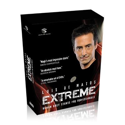 Extreme (Human Body Stunts) 4-DVD Set (DVD525)