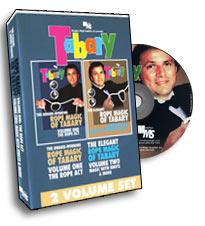 Tabary Rope Magic DVD Set (DVD418)
