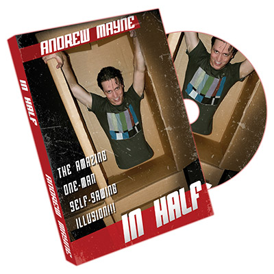 In Half DVD by Andrew Mayne (DVD618)