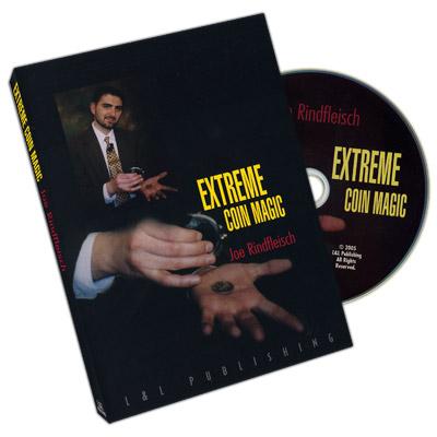 Extreme Coin Magic DVD (DVD327)