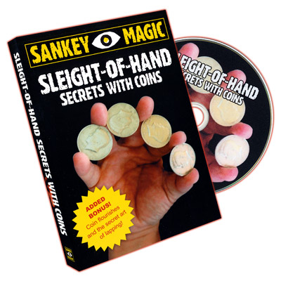 Sleight of Hand with Coins DVD (DVD406)