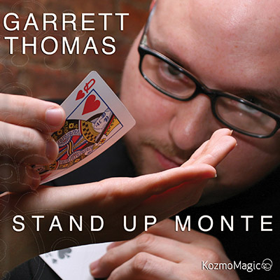 Stand Up Monte DVD & Gimmick (3199-w7)
