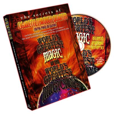 WGM Cigarette Through Quarter DVD (DVD308)
