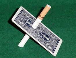 Sigaret door Kaart & Online Video (0484)
