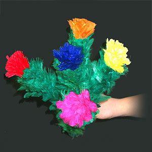Blooming Bouquet 5 Flowers ECONOMY (3568J5)