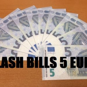 Flash Biljetten 5 Euro (4971)