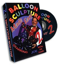Balloon Sculpture Made Easy DVD vol. 2 (DVD209)