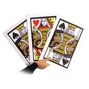 Three Card Monte Giant Pro (2247Z3)