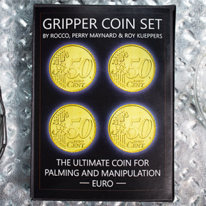 Gripper Coin 50 Eurocent Set by Rocco Silano (4718)