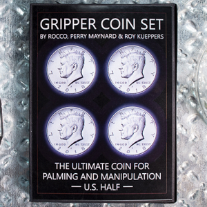 Gripper Coin Half Dollar Set by Rocco Silano (4719)