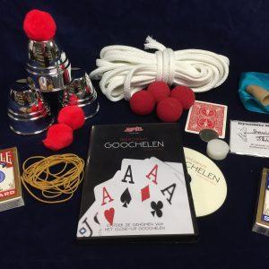 Basiscursus Goochelen Pakket & DVD (P0011)