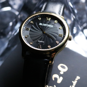 Infinity Watch V2 Gold Case Black Dial (4785)