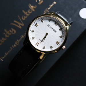 Infinity Watch V2 Gold Case White Dial (4853)