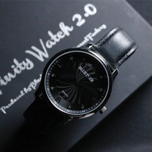 Infinity Watch V2 Silver Case Black Dial (4854)