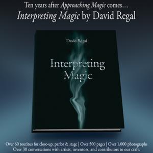 Interpreting Magic Book by David Regal (B0350)