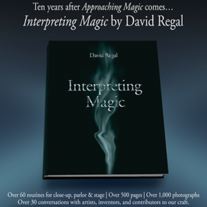 Interpreting Magic Book by David Regal (B0350)