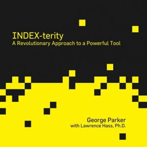 Index-Terity by George Parker with Lawrence Hass Boek (B0280)