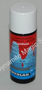 Transparant bloed Kryolan 50 ml (KR4000)