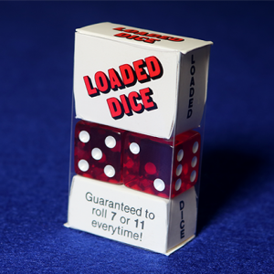 Loaded Dice - Acrylic Red (5052)