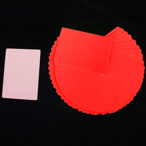 Manipulatiekaarten Dun Rood / Huidskleur (4832)