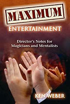 Maximum Entertainment Book (B0152)
