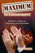 Maximum Entertainment Book (B0152)