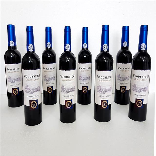 Multiplying Wine Bottles Blue by Tora Magic (4947-G1)