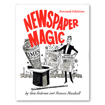 Newspaper Magic Revised Boek (B0141)