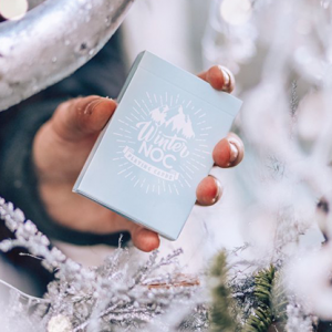 Winter NOC Glacier Ice (Blue) Playing Cards (5042)