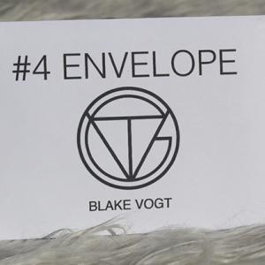 Number 4 Envelope by Blake Vogt (2009)