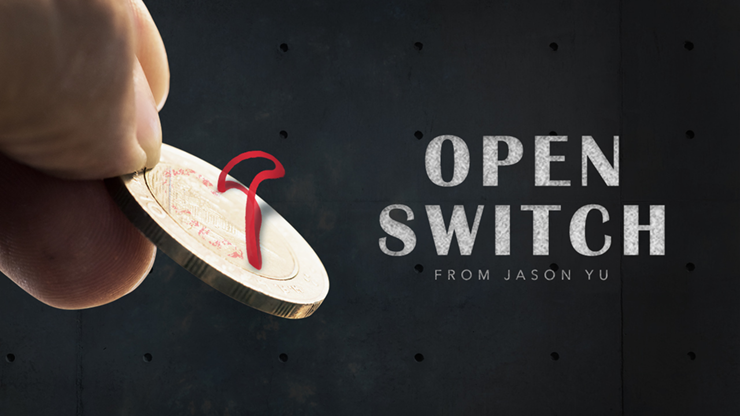 Open Switch DVD and Gimmicks by Jason Yu (DVD1000)