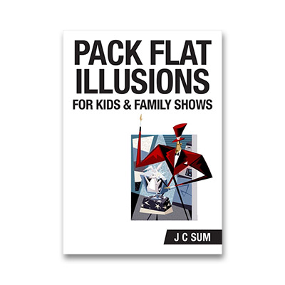 Pack Flat Illusions by JC Sum Boek (B0270)